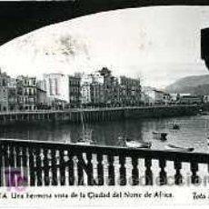 Postales: FOTO POSTAL. CEUTA. SELLO DE FRANCO 1 PESETA. Lote 23907398