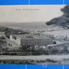 Postales: CEUTA. CUARTEL DE LA REINA. FOTOTIPIA DE HAUSER Y MENET. Lote 25013834
