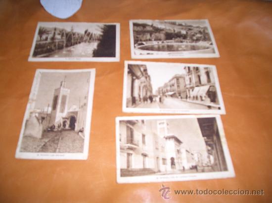TETUAN LOTE 5 POSTALES ROISIN FOTOGRAFO (Postales - España - Ceuta Antigua (hasta 1939))