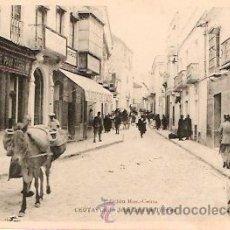 Postales: POSTAL CEUTA CALLE JOSE LUIS DE TORRES ED. ROS. Lote 8933410