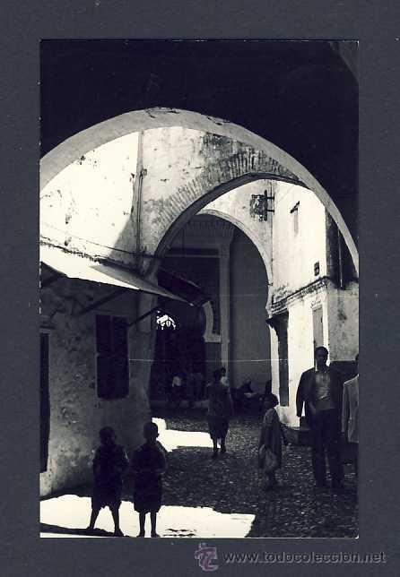 POSTAL DE TETUAN: YEMAA EL QUEBIR(FOTO GARCIA-CORTES NUM.665) (Postales - España - Ceuta Antigua (hasta 1939))