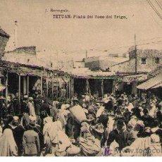 Postales: TETUAN. PLAZA DEL ZOCO DEL TRIGO. HAUSER Y MENET. NOCIRCULADA. Lote 17721611