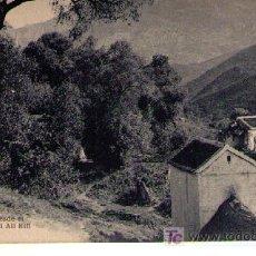 Postales: TETUAN. EL VALLE DESDE EL MORABITO SIDI ALI RIFI. HAUSER Y MENET. NO CIRCULADA. Lote 17721616