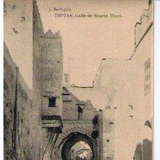 Postales: TETUAN. CALLE DE NEARIN TIUNI. HAUSER Y MENET. NO CIRCULADA. Lote 17721615