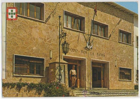 TARJETA POSTAL DE CEUTA CUARTEL DE REGULARES TETUAN Nº 1 MILITAR FUERZAS ARMADAS EJERCITO (Postales - España - Ceuta Moderna (desde 1940))