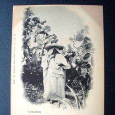 Postales: POSTAL ANTIGUA TANGER. GIRL FROM THE COUNTRY. REVERSO SIN DIVIDIR. ANTERIOR A 1905. NÚMERO 609. . Lote 24966711