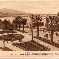 Postales: POSTAL CEUTA PASEO DE SAN SEBASTIAN . Lote 11868557