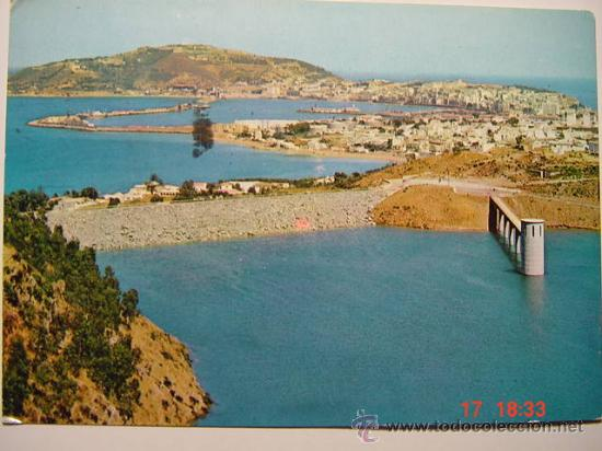 9076 CEUTA PANTANO VISTA PARCIAL AÑOS 1960 - MAS ESTA CIUDAD EN MI TIENDA COSAS&CURIOSAS (Postales - España - Ceuta Moderna (desde 1940))