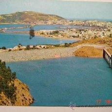 Postales: 9076 CEUTA PANTANO VISTA PARCIAL AÑOS 1960 - MAS ESTA CIUDAD EN MI TIENDA COSAS&CURIOSAS. Lote 13373533
