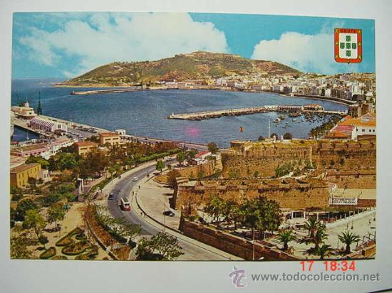 9083 CEUTA VISTA PARCIAL AÑOS 1960 - MAS ESTA CIUDAD EN MI TIENDA COSAS&CURIOSAS (Postales - España - Ceuta Moderna (desde 1940))