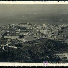 Postais: TARJETA POSTAL FOTOGRAFICA DE CEUTA - VISTA DE LA HERMOSA CIUDAD ESPAÑOLA DE AFRICA, FOTO RUBIO. Lote 17901364