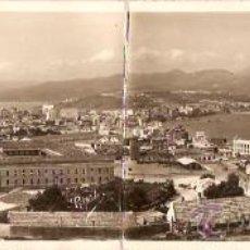 Postales: POSTAL PANORAMICA CEUTA VISTA GENERAL DESDE EL HACHO FOT. RAPIDE. Lote 13836999