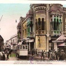 Postales: POSTAL CEUTA CASINO AFRICANO Y CALLE SOBERANIA NACIONAL FOT. ROISIN . Lote 13837220