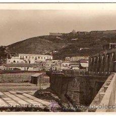 Postales: POSTAL CEUTA VISTA PARCIAL AL FONDO EL HACHO FOT. RAPIDE . Lote 13837251