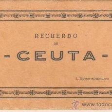 Postales: LIBRILLO CON 10 POSTALES , ANTIGUAS. Lote 23152678