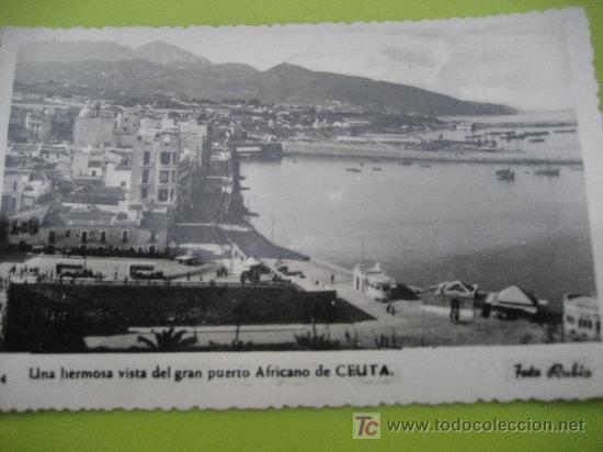 CEUTA. Nº 24. FOTO RUBIO. ESCRITA 1957 (Postales - España - Ceuta Moderna (desde 1940))
