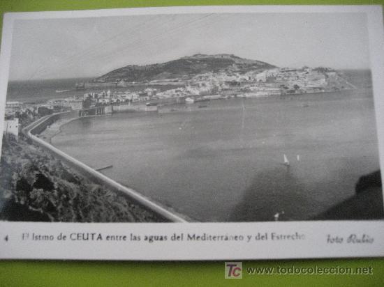 CEUTA. Nª 4 . FOTO RUBIO. ESCRITA 1957 (Postales - España - Ceuta Moderna (desde 1940))