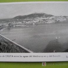 Postales: CEUTA. Nª 4 . FOTO RUBIO. ESCRITA 1957. Lote 25013837