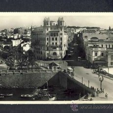 Postales: POSTAL DE CEUTA: PUENTE ALMINA Y CALLE DE LA LIBERTAD. Lote 14485175