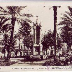 Postales: CEUTA: PLAZA DE LA CONSTITUCIÓN. L. ROISIN. NO CIRCULADA (AÑOS 30). Lote 27236385