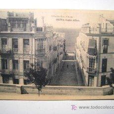 Postales: POSTAL CEUTA: CALLE ALFAU (ROS). Lote 17339718