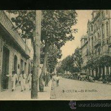 Postales: POSTAL DE CEUTA - EL REBELLÍN. Lote 17926587