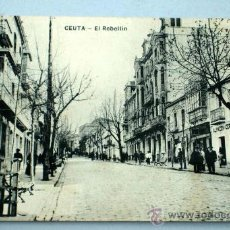 Postales: POSTAL CEUTA EL REBELLÍN. Lote 18433820