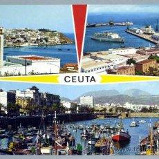 Postales: POSTAL CEUTA BELLEZAS CIUDAD 1974. Lote 20304126