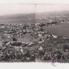 Postales: CEUTA UNA HERMOSA CIUDAD ESPAÑOLA DE AFRICA TOMADA DESDE EL MONTE HACHO,PHOTOGRAPH OF RUBIO. Lote 20357037