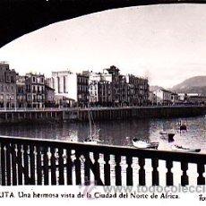 Postales: POSTAL CEUTA VISTA DE LA CIUDAD DEL NORTE DE AFRICA FOT. RUBIO. Lote 21973665