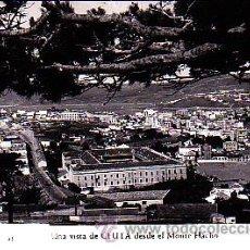 Postales: POSTAL CEUTA UNA VISTA DESDE EL MONTE HACHO. Lote 21973686