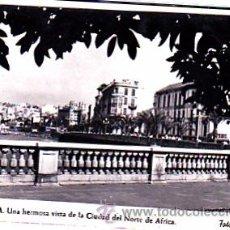 Postales: POSTAL CEUTA UNA HERMOSA VISTA DE LA CIUDAD DEL NORTE DE AFRICA FOTO RUBIO. Lote 22063698