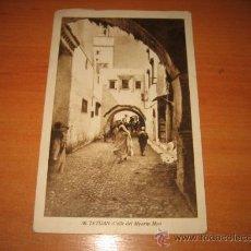 Postales: 50-TETUAN .CALLE DEL MYARIN MYO FECHADA TETUAN 1948. Lote 22392018