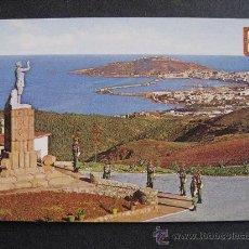 Postales: CEUTA,VISTA DESDE EL ACUARTELAMIENTO LA LEGION.. Lote 23019074