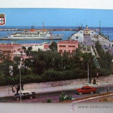 Postales: POSTAL DE CEUTA - LLEGADA DEL TRANSBORDADOR (ESCRITA 1967, SIN CIRCULAR). Lote 23345627