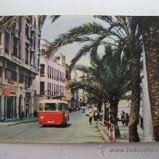 Postais: POSTAL DE CEUTA - PASEO DE LAS PALMERAS (CIRCULADA 1967). Lote 23345696