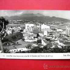 Postales: POSTAL DE CEUTA - FOTO RUBIO. Lote 23387996