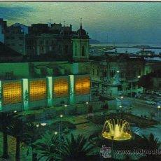Postales: CEUTA - 43 VISTA NOCTURNA - PLAZA DE LOS REYES. Lote 24818138