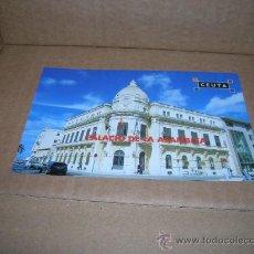 Postales: NO ES TARJETA POSTAL. FOTOGRAFIA PALACIO DE LA ASAMBLEA EN CEUTA. TAMAÑO POSTAL 14,5 X 9,5 CM... Lote 25775184