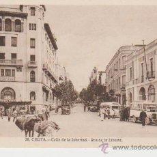 Postkarten - CEUTA. CALLE DE LA LIBERTAD - 26461291