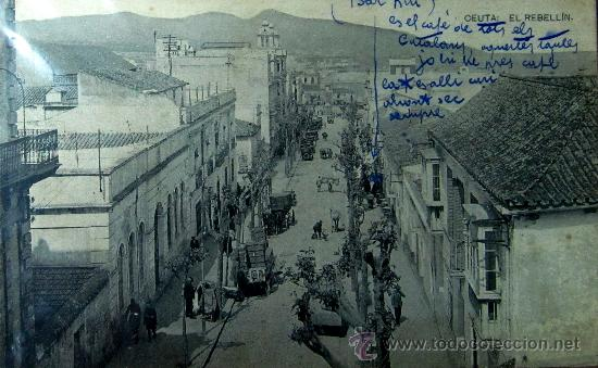 CEUTA : EL REBELLÍN. FOTOTIPIA HAUSER Y MENET (Postales - España - Ceuta Antigua (hasta 1939))