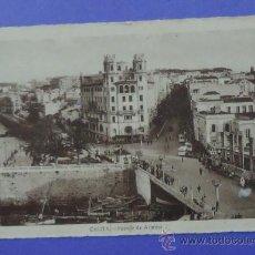 Postales: CEUTA. PUENTE DE ALMINA. 1944.. Lote 31603270