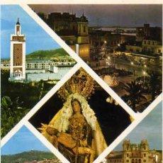 Postales: CEUTA Nº 84 VARIOS ASPECTOS EDIC LIB. GENERAL. SIN CIRCULAR. Lote 31625439