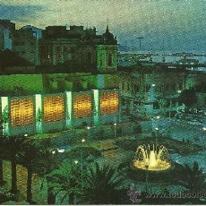 Postales: CEUTA - VISTA NOCTURNA - PLAZA DE LOS REYES - SIN CIRCULAR. Lote 32321397