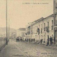 Postales: CEUTA.- CALLE DE LA MARINA. Lote 36723264
