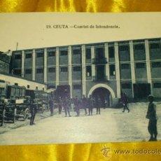 Postales: POSTAL NUM 19, CUARTEL DE INTENDENCIA DE CEUTA, FOTOS ARRIBAS, 9X14, SIN CIRCULAR. Lote 32725884