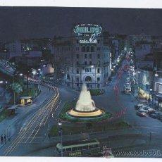 Postales: POSTAL CEUTA - PLAZA DEL GENERAL GALERA, NOCTURNA - G. GARRABELLA 1967. Lote 33470160