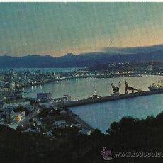 Postales: POSTAL: CEUTA - VISTA PARCIAL NOCTURNA.. Lote 33657372