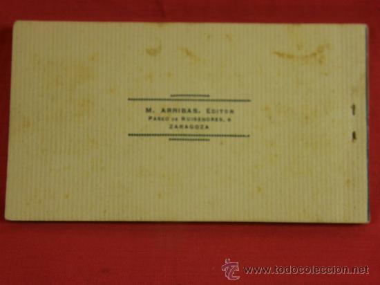 Postales: 20 tarjetas postales Bloc postal Recuerdo de Tetuán Ed. M. Arribas Zaragoza, ppios S XX Xauen - Foto 10 - 36381118