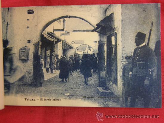 Postales: 20 tarjetas postales Bloc postal Recuerdo de Tetuán Ed. M. Arribas Zaragoza, ppios S XX Xauen - Foto 6 - 36381118